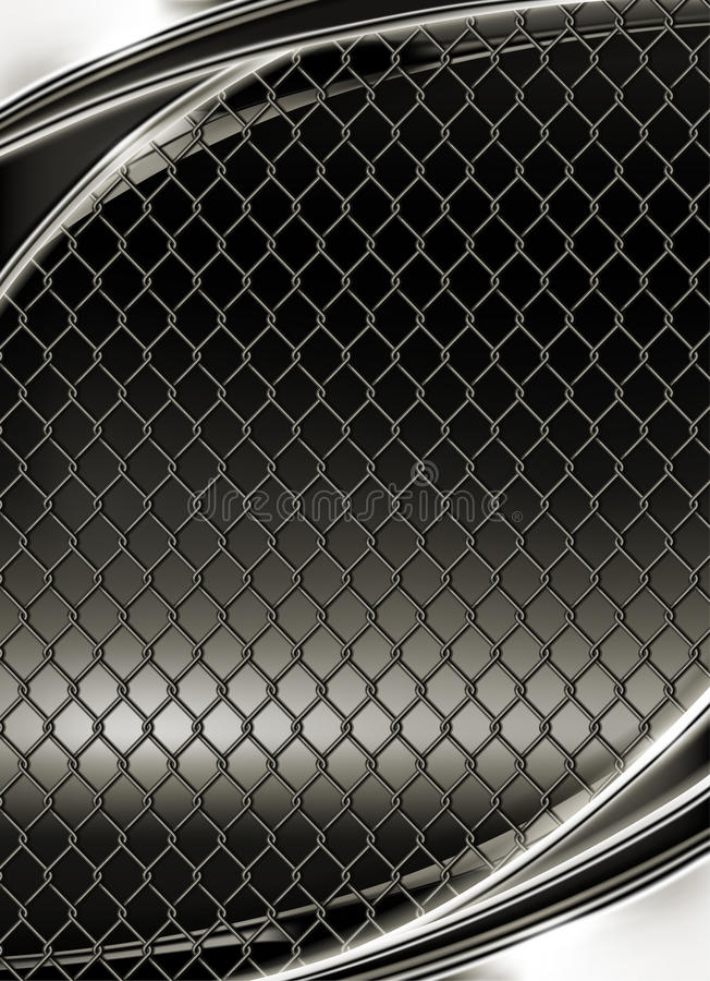 Download Wire Mesh, Black Background Royalty Free Stock Images - Image: 20047339