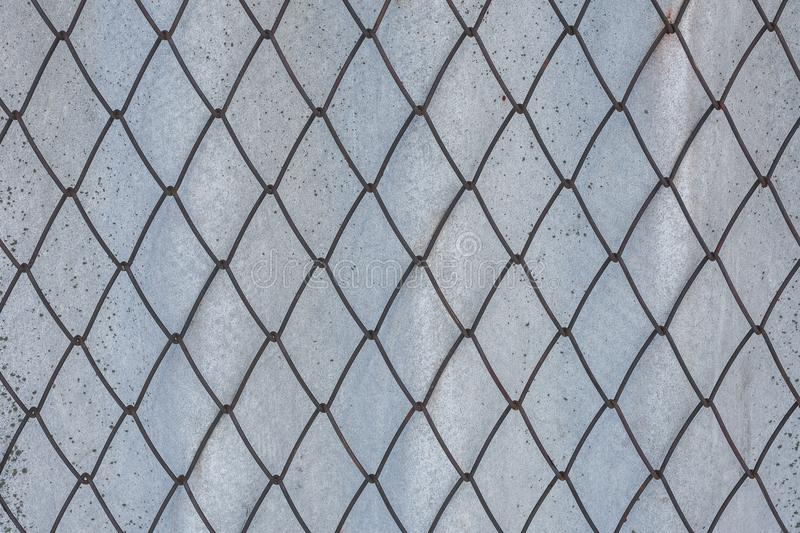 Wire Mesh For Fencing. Old Slate. Stock Photo - Image of boundary ...