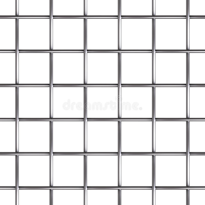 Wire mesh seamless pattern. Repeatable steel wire mesh can tile seamlessly. Endless pattern. Additional PNG format with transparent mask to isolate the stock illustration
