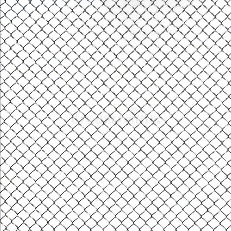 Wire Mesh Texture On White Background Stock Image - Image of ...