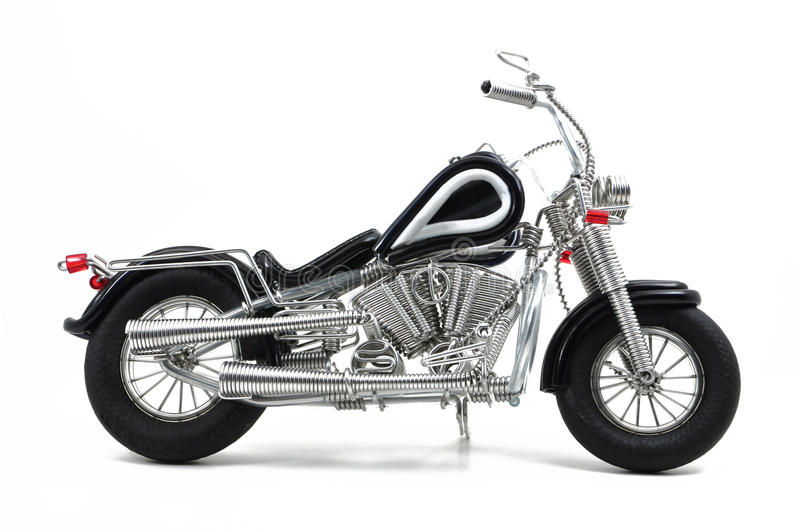 Download Wire motorcycle stock image. Image of homemade, motorcycle - 22276045