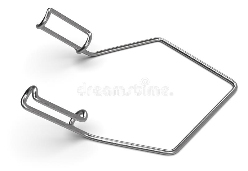 Wire retractor royalty free stock photo