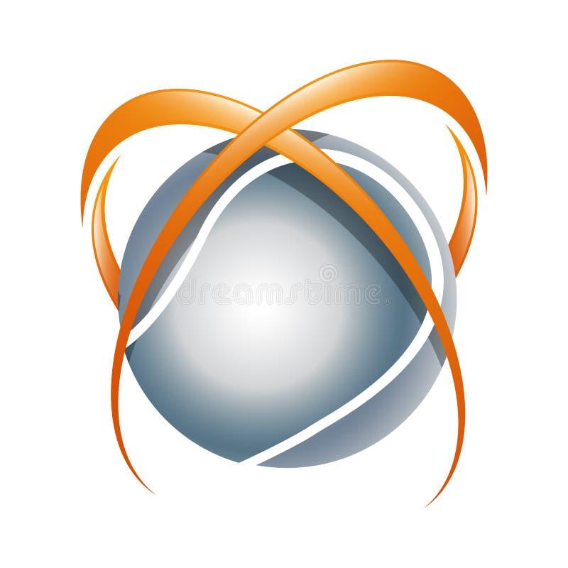 Wire World Logo Template vector illustration vector illustration