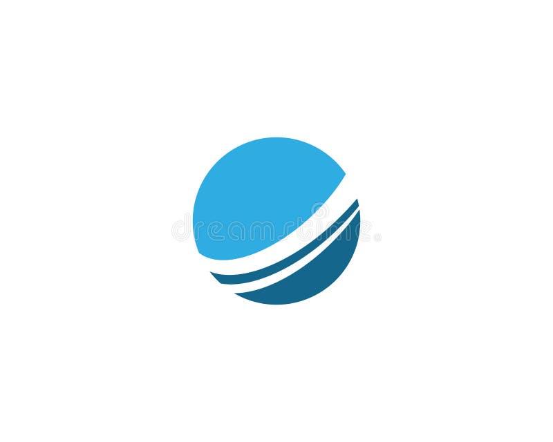 Wire World Logo royalty free illustration