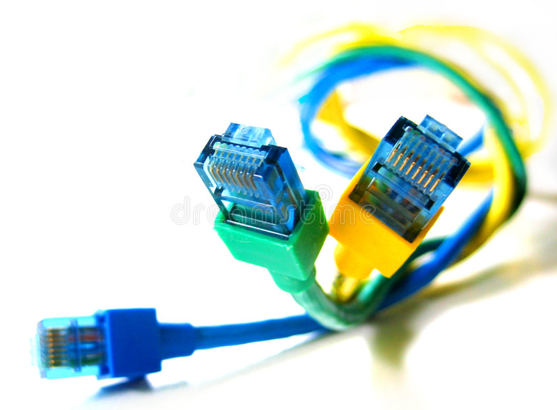 Wired royalty free stock photos