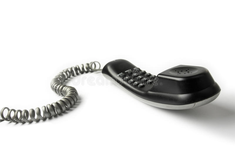 Download Wired telephone stock image. Image of cord, single, ringing - 14879007