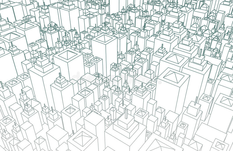 Wireframe city stock illustration illustration of background download wireframe city stock illustration illustration of background 37660292 malvernweather Image collections