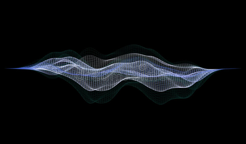 Wireframe - un ejemplo esquelético del modelo tridimensional 3d ilustración del vector