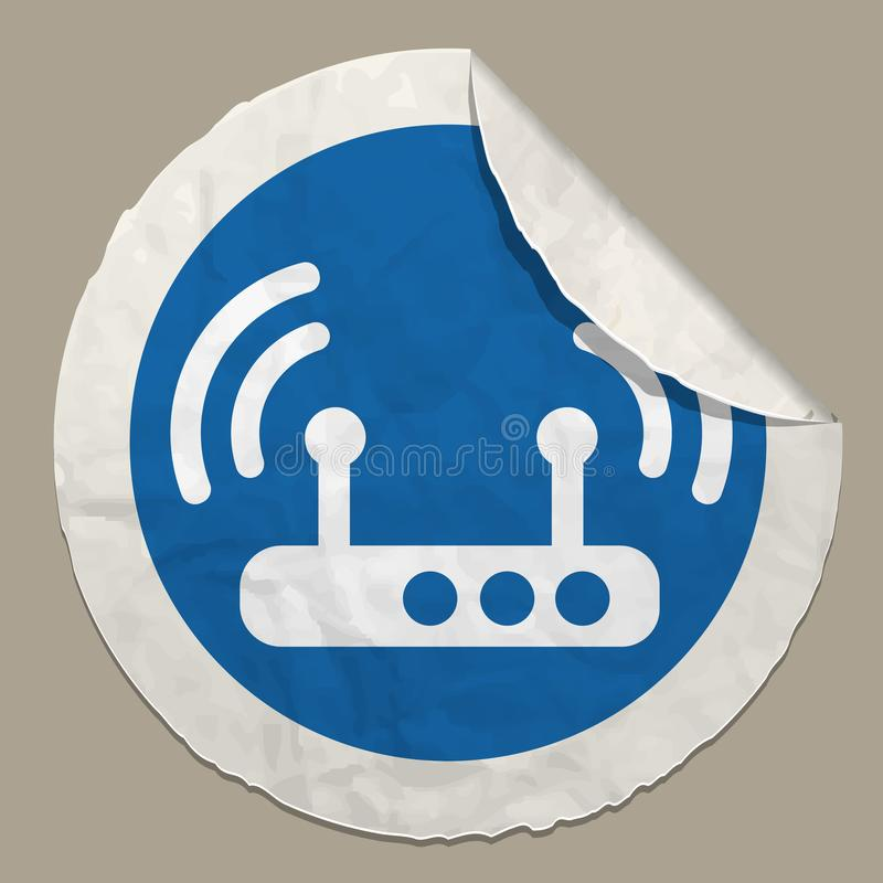 Wireless access point vector illustration