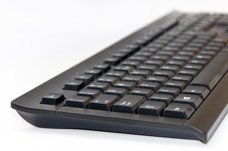 Wireless black computer pc keyboard. Brand new wireless black computer pc keyboard stock images