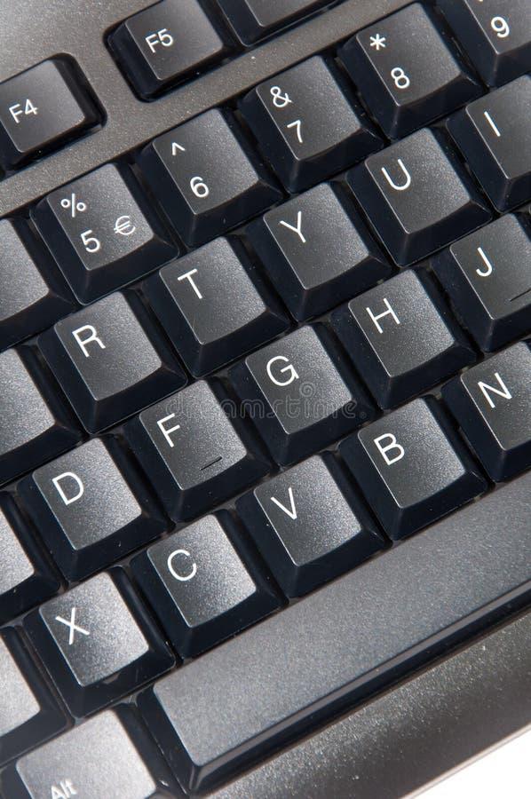Wireless black computer pc keyboard. Brand new wireless black computer pc keyboard stock image