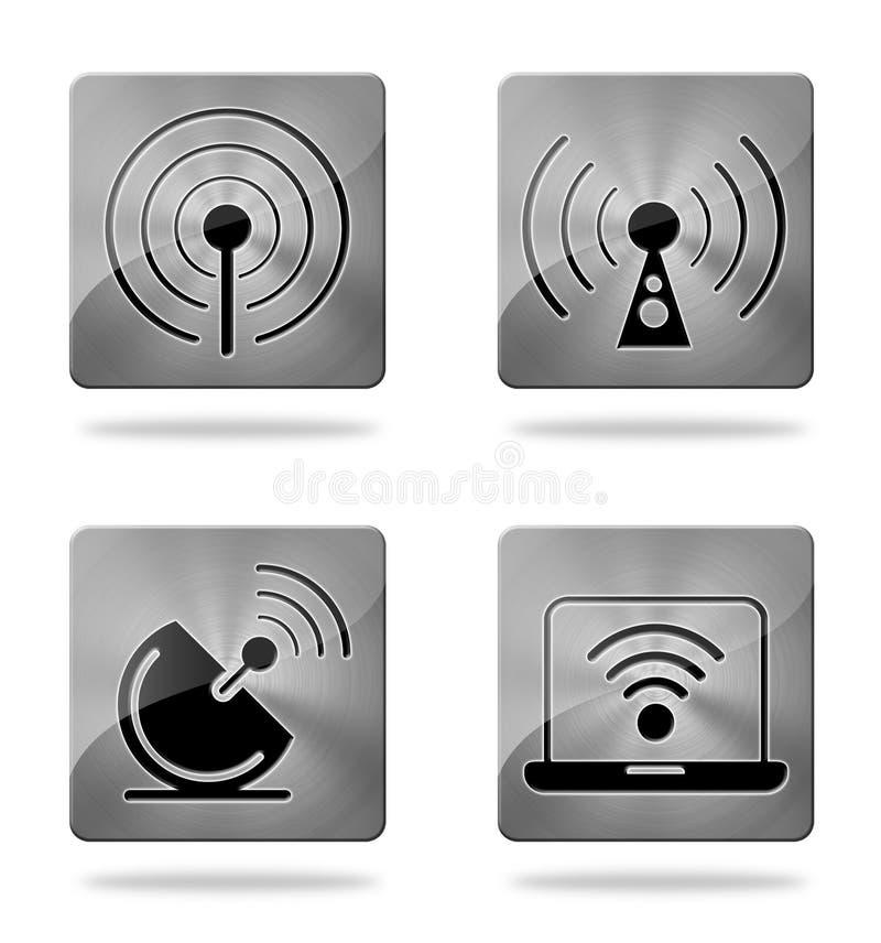 Download Wireless Communication Icons Stock Illustration - Image: 21080572