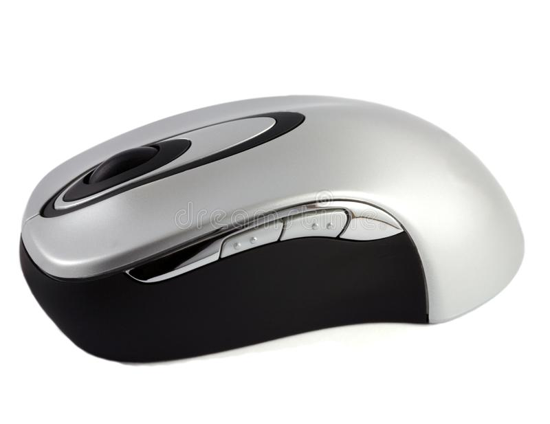 Wireless computer internet mouse isolated stock photos