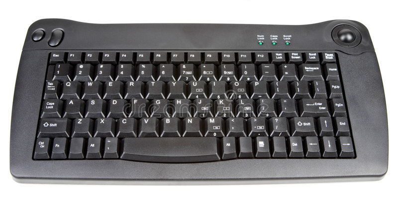 Download Wireless Computer Keyboard stock image. Image of technology - 5147455