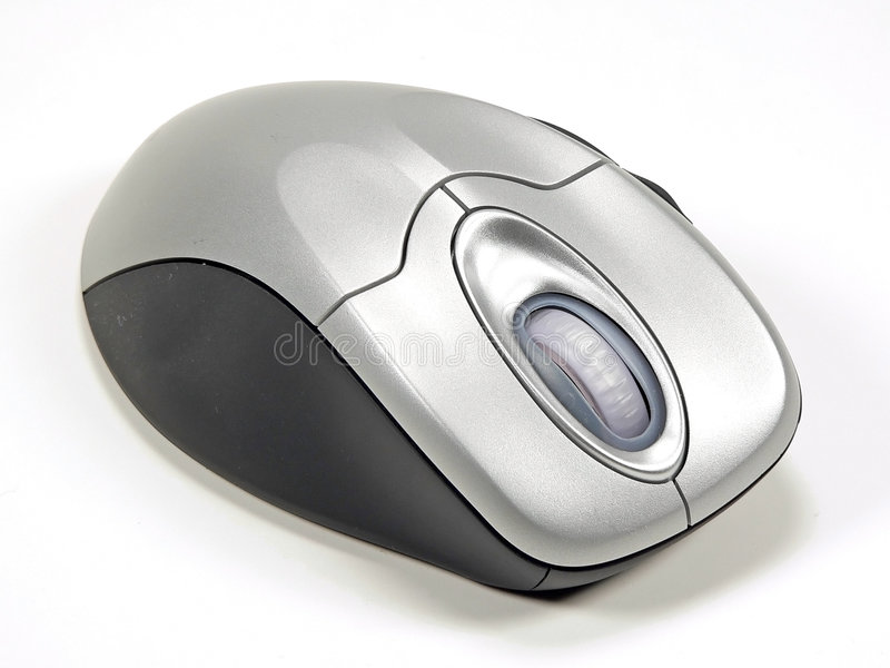 Wireless Computer Mouse royalty free stock photography