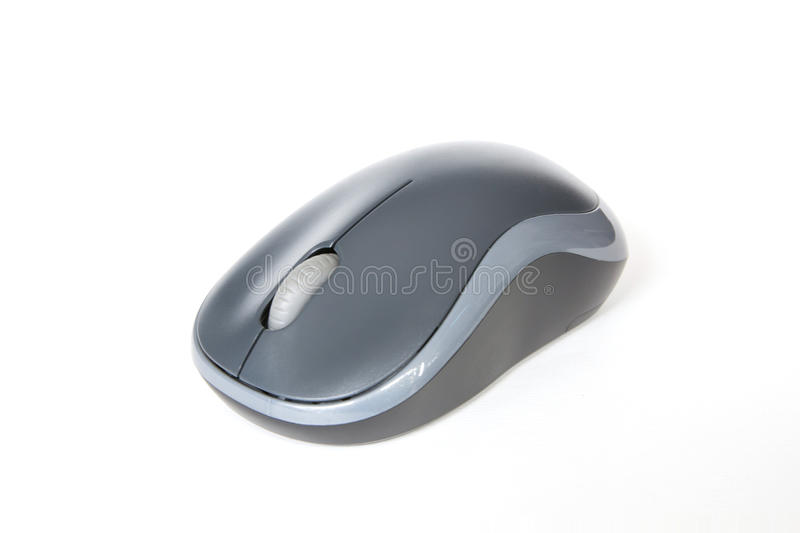 Wireless computer mouse isolated royalty free stock images