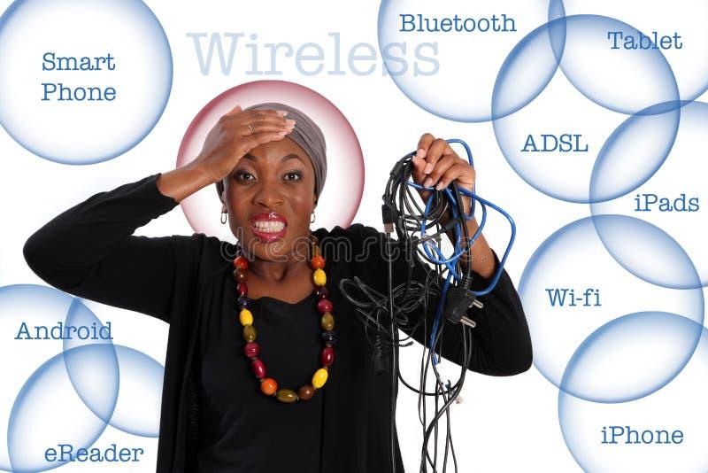 Wireless. stock photo