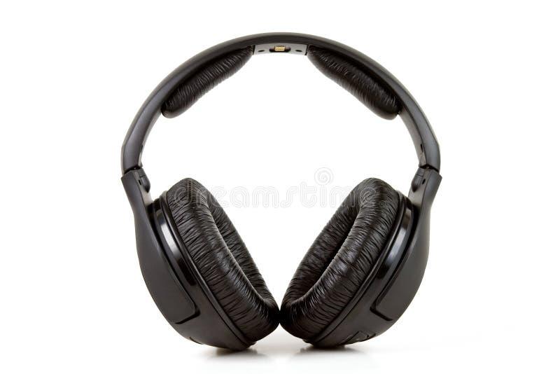 Wireless headphone stock images
