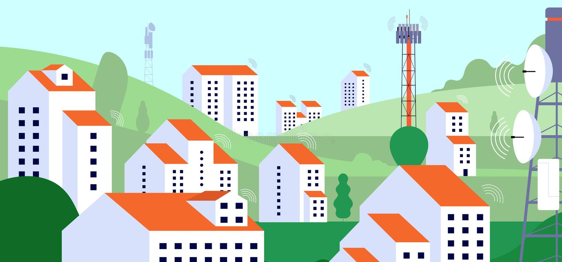 Wireless Tower Black Clip Art Stock Illustration ...