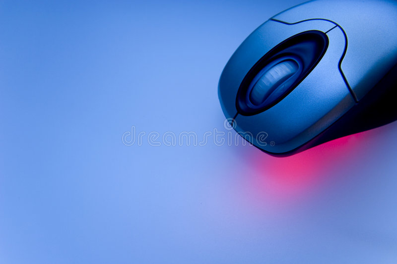 Wireless Mouse 01 stock photography