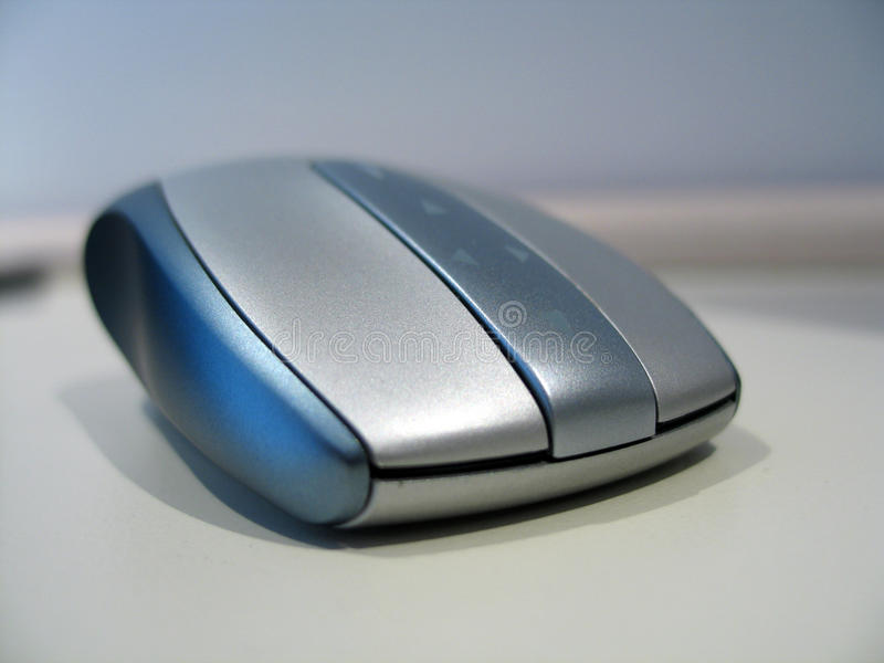 Download Wireless mouse stock image. Image of device, modern, button - 24932287