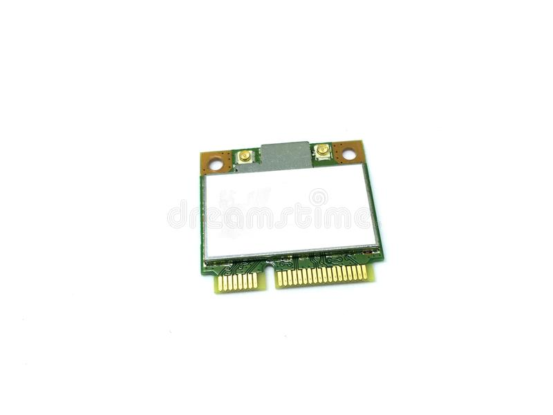 Wireless network card stock photography