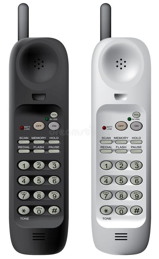 Free Wireless Phone. Stock Photography - 4262172