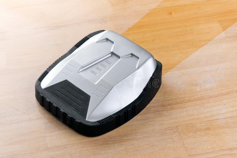 Wireless robot vacuum cleaner stock image
