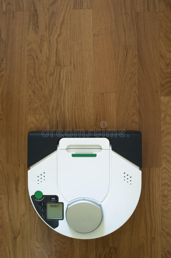 Wireless Robot Vacuum Cleaner Royalty Free Stock Images