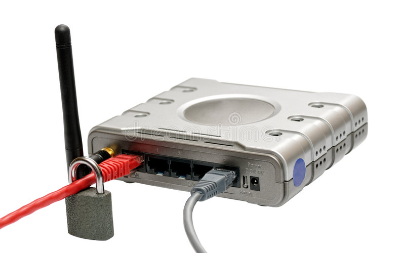 Download Wireless router stock image. Image of cable, wireless - 7833369