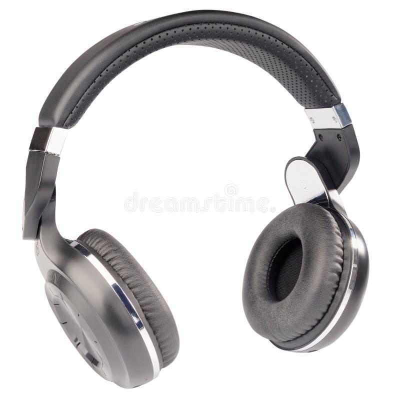 Headphones isolated royalty free stock photos