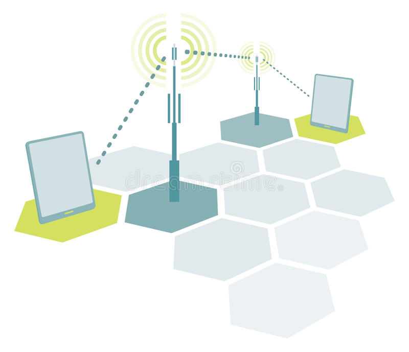 Download Wireless Tablet Network Communication Stock Photography - Image: 34614242