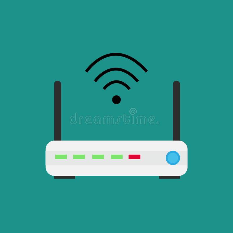 Wireless technology devices isometric, royalty free illustration