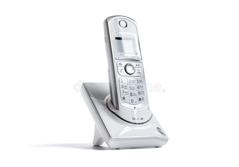 Wireless telephone royalty free stock photo