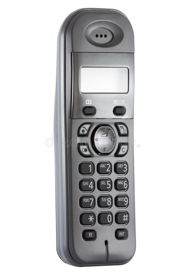 Download Wireless telephone handset stock photo. Image of path - 16985826