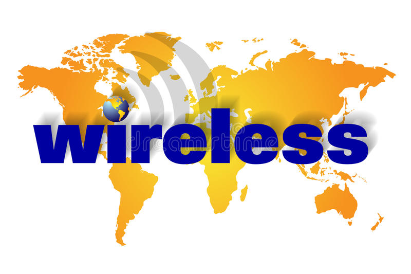 Download Wireless Or Wire Less Communication Stock Illustration - Illustration: 16653818