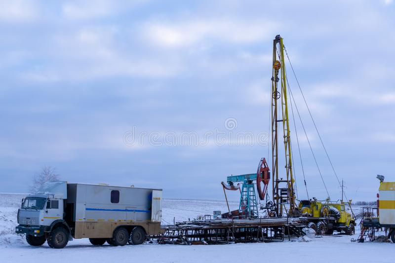 Wireline Field Engineer Odessa Tx: Wireline Logging Tools Stock Image. Image Of Logging