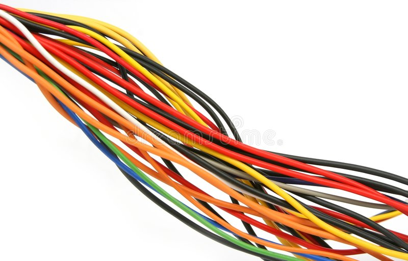 Download Wires #1 stock photo. Image of colourful, color, helix - 477666