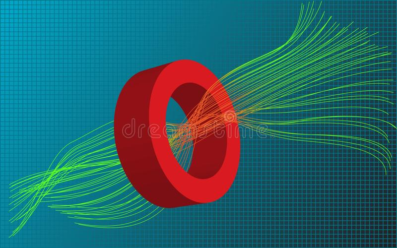 Wires stock illustration