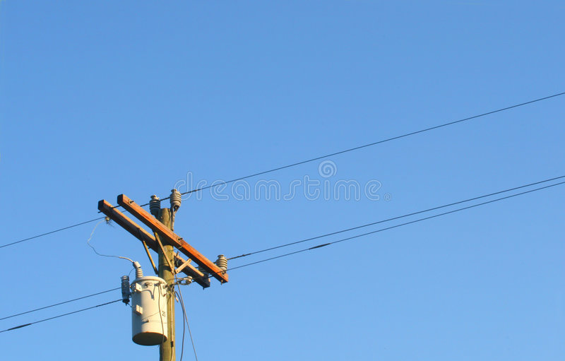Wires stock image