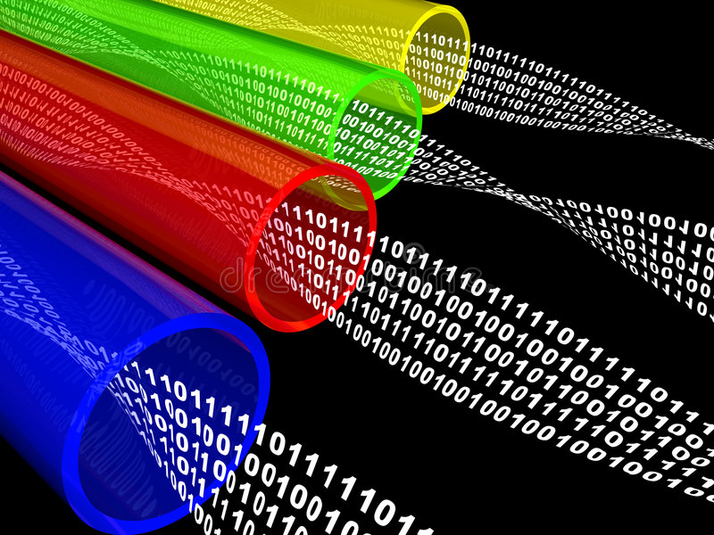 Download Wires Data Flow Stock Images - Image: 7528694