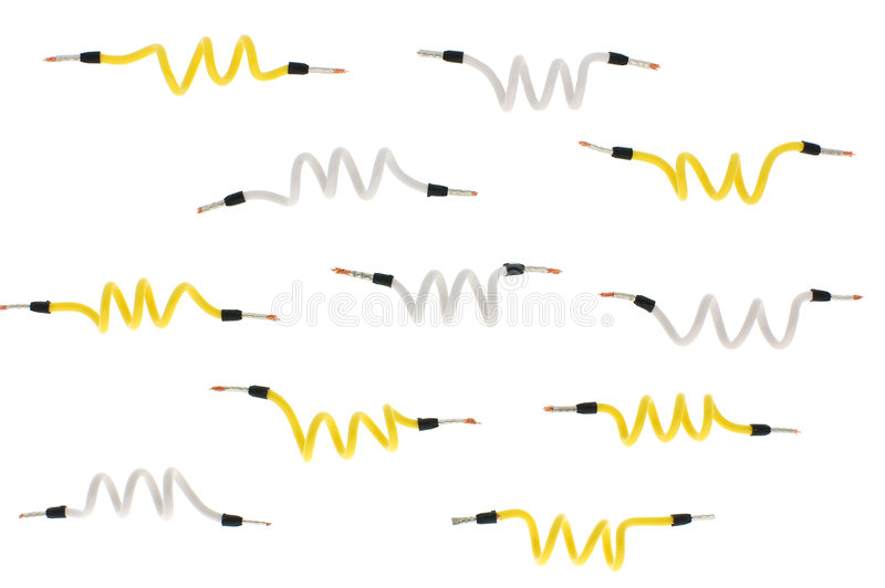 Download Wires isolated stock image. Image of network, cat5, telecommunications - 3177857