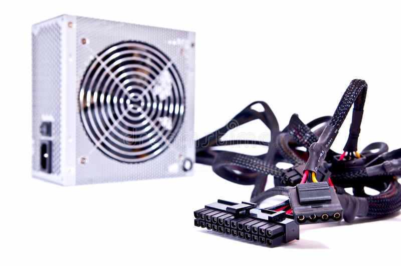 Download Wires from power device stock photo. Image of computer - 13088264