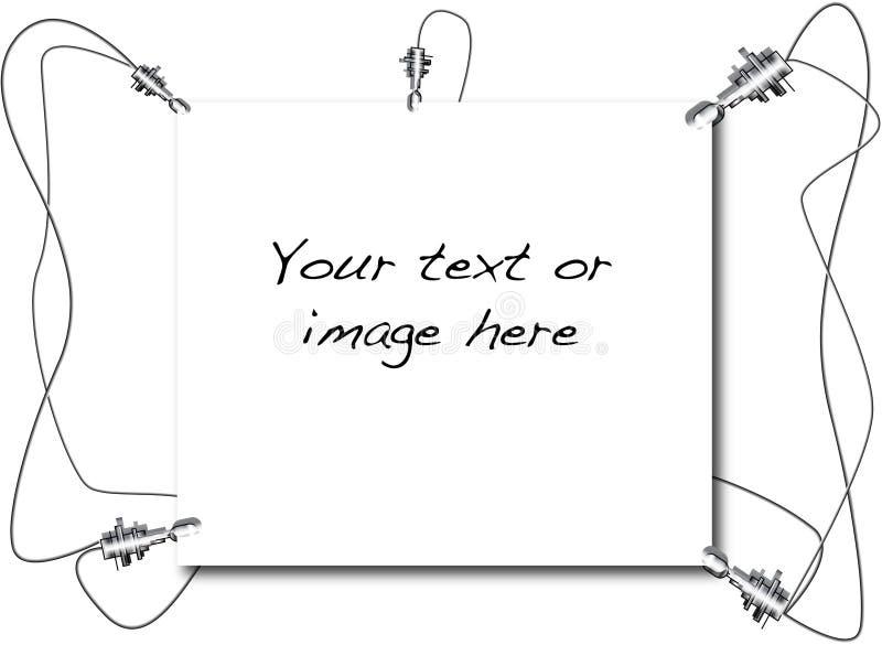 WiresScreen photographie stock libre de droits