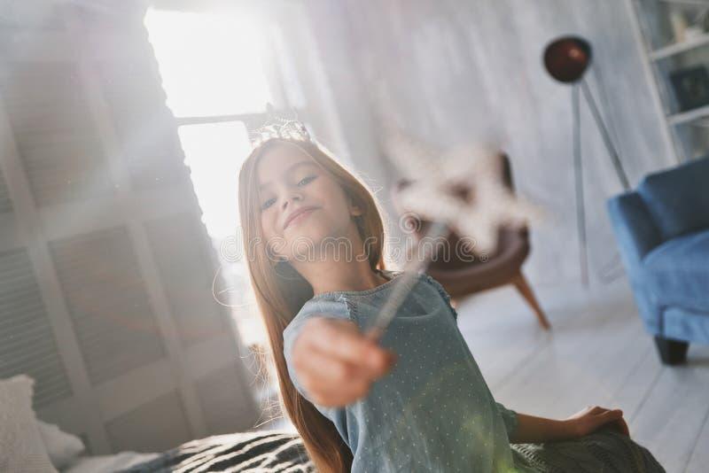 Wirkliche Prinzessin stockbilder