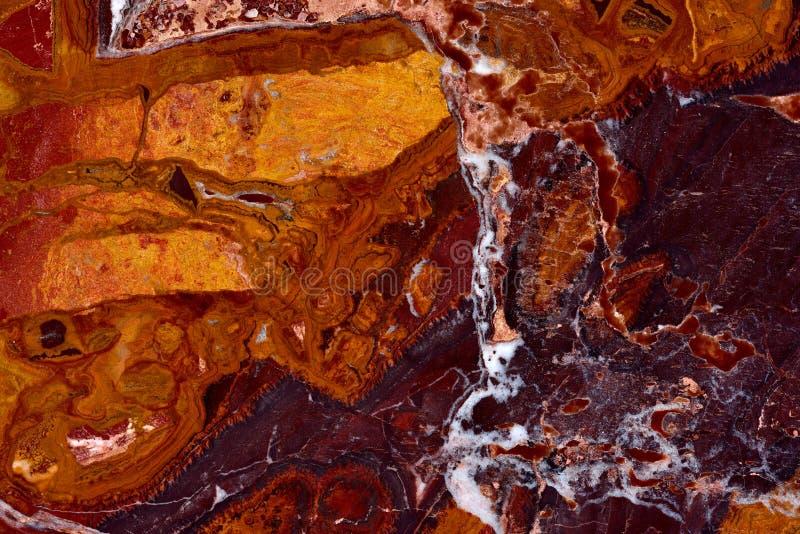 Wirklicher natürlicher beschaffenheits-Musterhintergrund ONYX Onice Rosso Extra lizenzfreie stockbilder