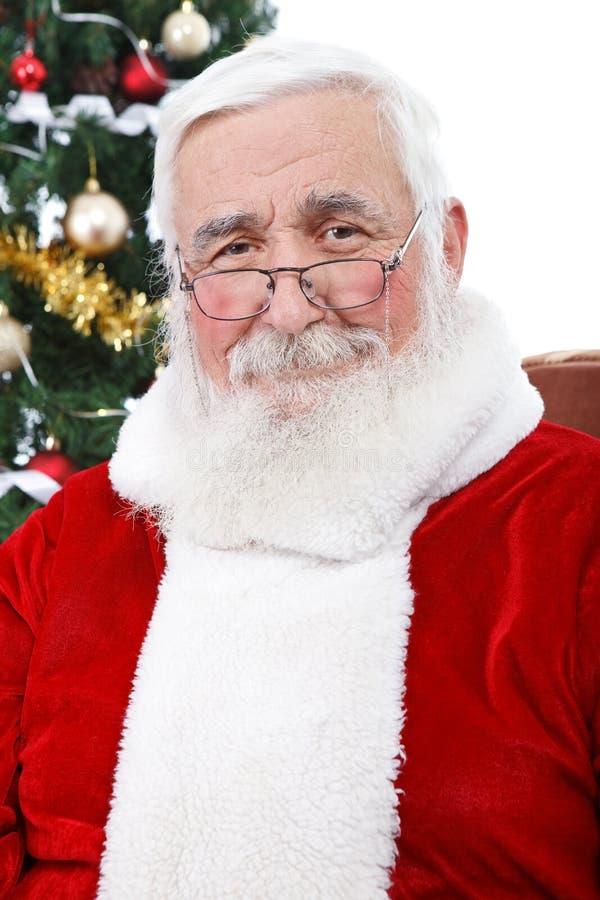Wirklicher Weihnachtsmann lizenzfreie stockfotografie