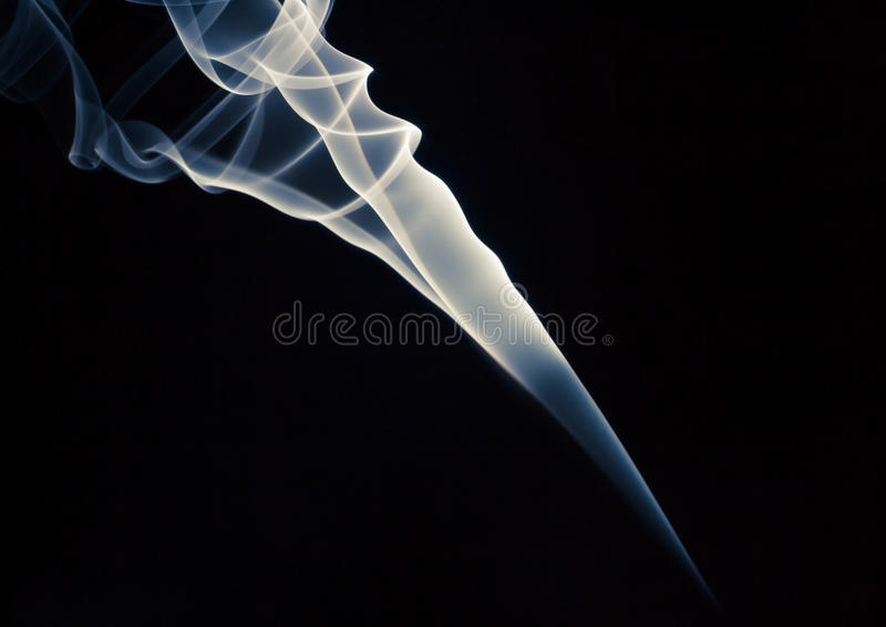 Wirls of a smoky galaxy royalty free stock photo