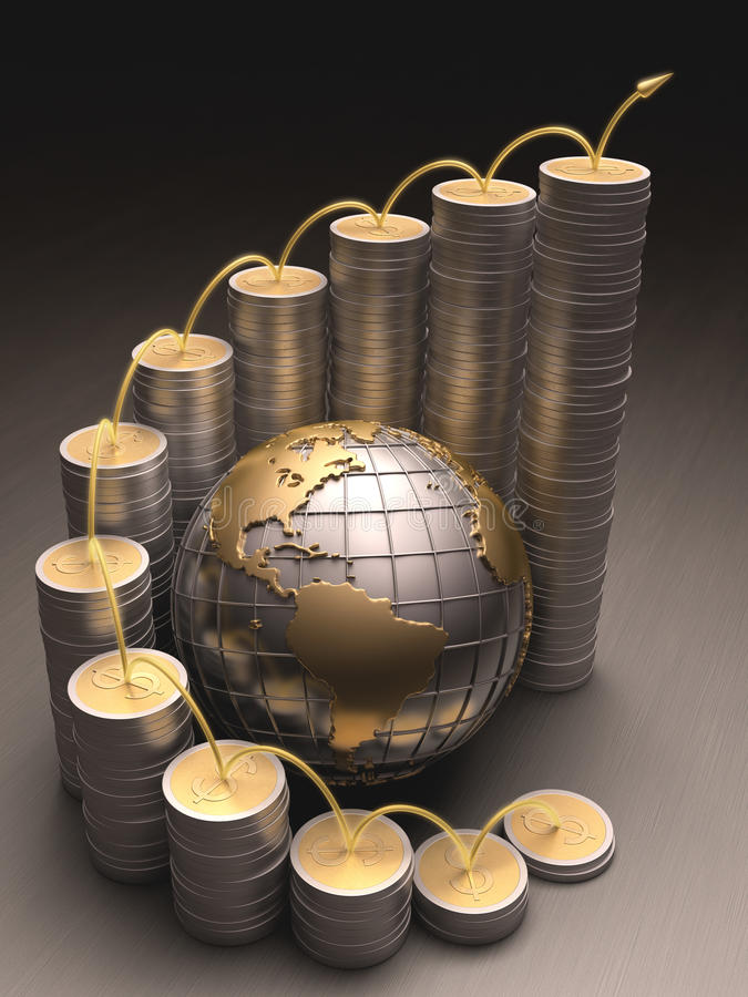 Wirtschaft lizenzfreie abbildung