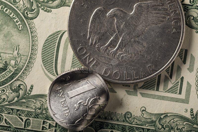 Wirtschaft von Russland ist unten scharf gegangen lizenzfreie stockbilder